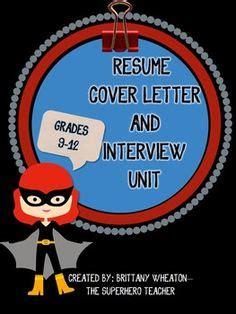 High school student resume job
